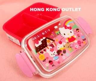 Sanrio Hello Kitty Bento Lunch Box Container Case C28b