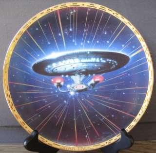 Star Trek Voyager USS Enterprise NCC 1701 D Plate Nice