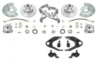 Mopar A Body Front Disc Brake Wheel Kit Brakes