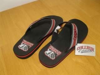 Mens Alabama Crimson Tide Collegiate Thong Sandals