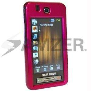 Amzer Polished Hot Pink Snap On Crystal Hard Case Cell