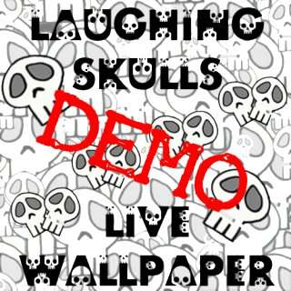 Laughing Skulls DEMO Live Wallpaper: Appstore for Android