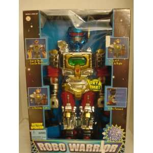 Robo Warrior Robot Walks, Talks, and Shoots by Fishel Toys & Games