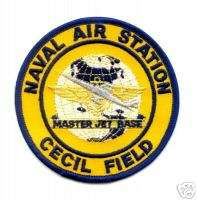 NAVY USN CECIL FIELD NAVAL AIR STATION NAS PATCH