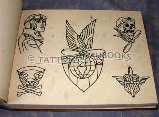 Tattoo FLASH FROM THE BOWERY Shop Antique Vintage Tattoos Gun Kit Ink