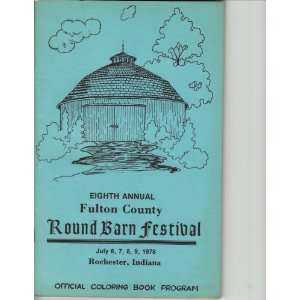 Coloring Book Program) Round Barn drawing by Scott Russell Books