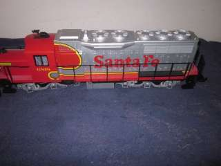 QUEEN MARY SERIES SANTA FE DIESEL LOCOMOTIVE WITH SOUND LN/OB