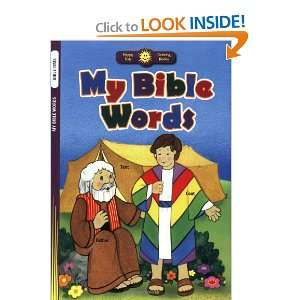 My Bible Words (Happy Day Coloring Books Bible Time) Standard