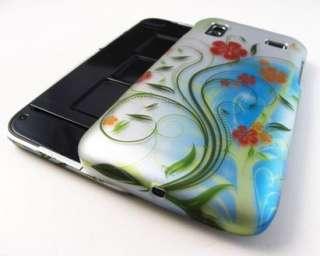 ELEGANT FLOWER VINES HARD CASE COVER SAMSUNG CAPTIVATE GLIDE PHONE