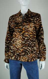 W0399 VT01 NEW ALFRED DUNNER WOMENS BASIC JACKET BROWN JACKET 8