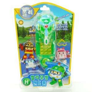 ROBOCAR POLI Transforming Cell Phone Robot Toy   HELI