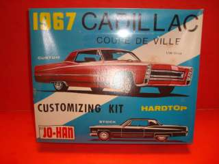 JoHan 1967 Cadillac Coupe DeVille Unb. Model Car Kit