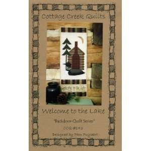 to the Lake (Quilted Wall Hanging Pattern) (Backdoor Quilt Series