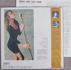 Mariah CAREY   The First Vision JAPAN Laserdisc CSLM796