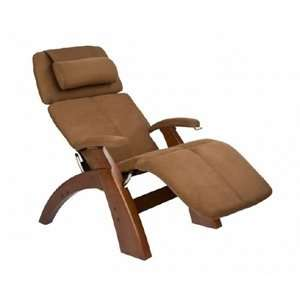 PC 075 Perfect Chair® Silhouette Zero Gravity Recliner with Walnut