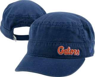 Florida Gators Womens New Era Military Adjustable Strapback Hat