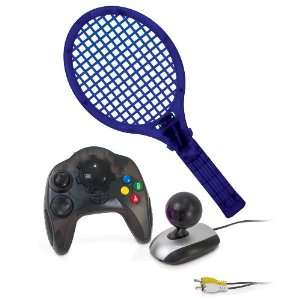 Plug N Play Wireless Tennis with 41 Games: Video Games