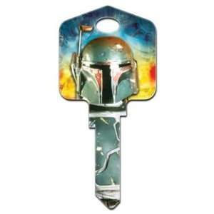 Star Wars Boba Fett Kwikset House Key (KW SW3) Home