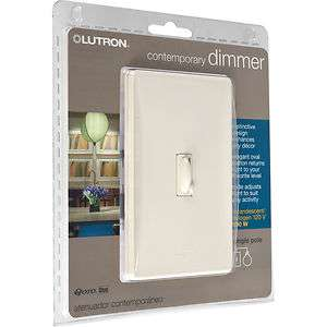 Contemporary Dimmer & Switch   Light Almond Color 886511021501
