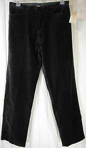 MICHAEL KORS   Black Velour Pants   34/32   NEW WITH TAG