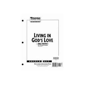 Tests Answer Key (Christian Schools) (9781579243685) BJU Press Books