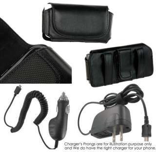 CAR+HOME CHARGER+CASE for AT&T Quickfire UTStarcom