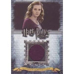 HARRY POTTER HBPU Costume Card   Hermione C10 Toys & Games