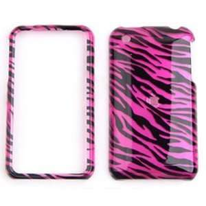 /Black Zebra Hard Case for iPhone 3G & 3GS Cell Phones & Accessories
