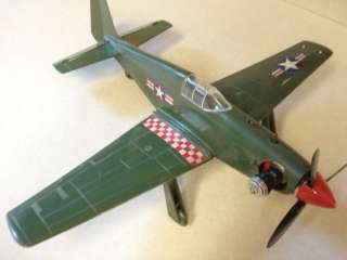 COX P 51 MUSTANG .049 POWERED CONTROL LINE MODEL AIRPLANE **