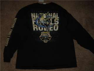 2010 Wrangler National Rodeo Finals Las Vegas PRCA Long Sleeved Shirt