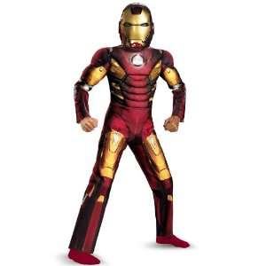 Lets Party By Disguise The Avengers Iron Man Mark VII Light Up Muscle