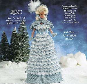 FANTASY~Crochet BOOK fits BARBIE FASHION DOLL~Annies Attic