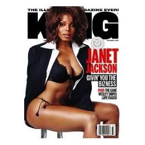 2006 Issue (Janet Jackson Cover) (Single Issue): King Magazine: Books