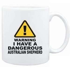 WARNING : DANGEROUS Australian Shepherd  Dogs: Sports & Outdoors