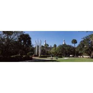University Students in Campus, Plant Park, University of Tampa, Tampa