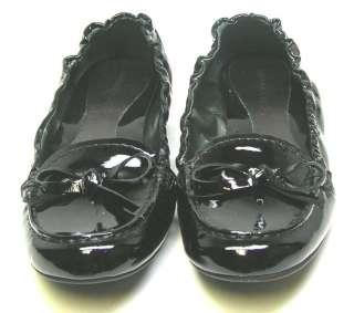 Arturo Chiang GLORIA Black Patent Flat Woman Shoes 7.5M