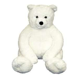 Melissa & Doug Giant Loveable Plush White Teddy Bear Toys & Games