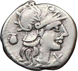 Roman Republic Pompeius Fostlus SHE WOLFROMULUS REMUS Rare Ancient