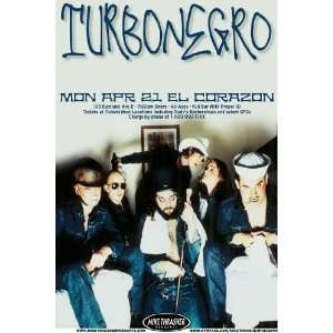 Turbonegro Poster   Concert Flyer   ELCGray: Home