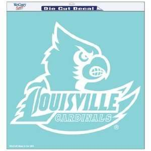 NCAA Louisville Cardinals 8 X 8 Die Cut Decal  Sports