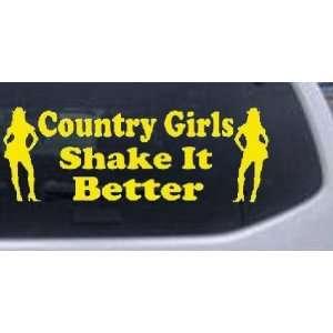 Girls Shake It Better Country Car Window Wall Laptop Decal Sticker