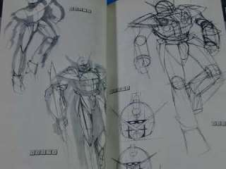 JAPAN RARE Syd Mead Turn A Gundam Mobile suit Design Art book OOP