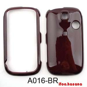 Cell Phone Case Cover For Huawei Tap U7519 Trans Snap Honey Brown