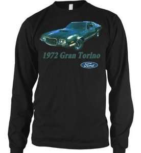 1972 Ford Gran Torino Officially Licensed Thermal T Shirt Classic Car