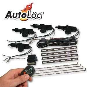 Door Remote Central Lock Kit hot street rat rod ford Automotive
