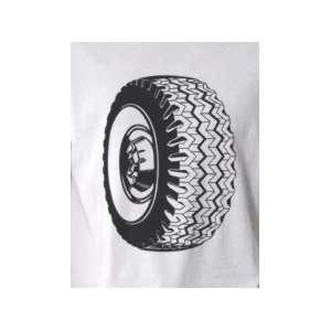 Tire   Pop Art Graphic T shirt (Mens Small)