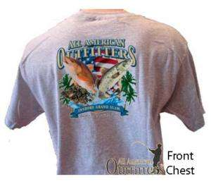 Flounder, Redfish, Speckled Trout Fishing T Shirt