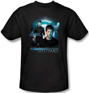 Ladies Kid Youth SIZES Stargate Atlantis Sheppard T shirt top tee