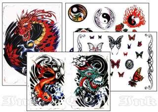 Tattoo Sketch Book Dragons Butterflys Tribal Art Design