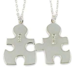 Necklace Forever Best Friends BFF Puzzle Pendant  Any Two